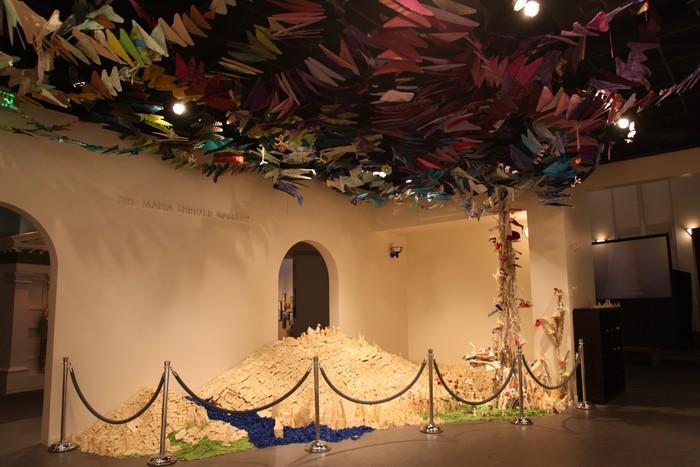 California Creates: Tapigami our exhibition at the California Museum
