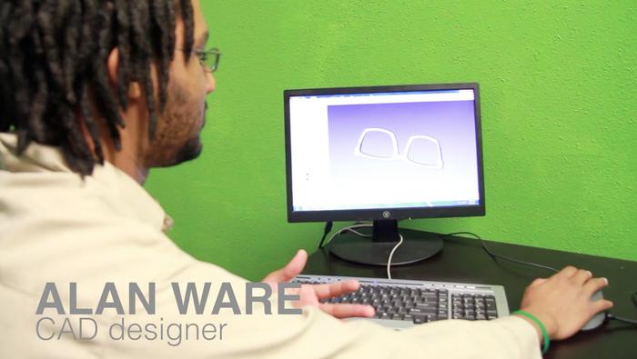 Our amazing CAD genius-Alan Ware