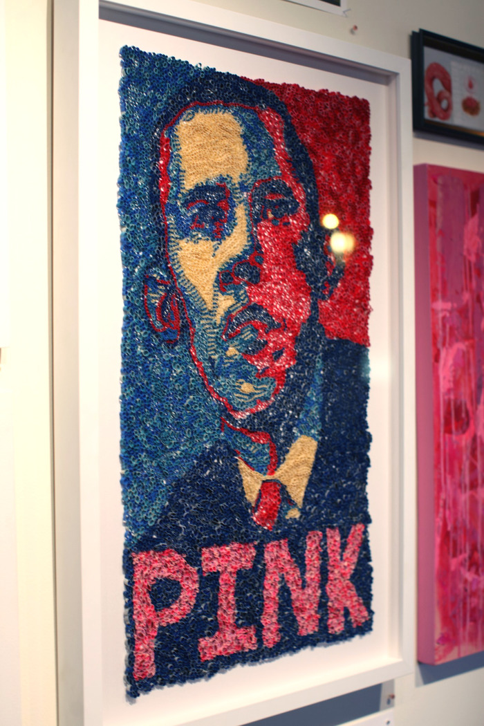 """""""Coming Out Party""""...Danny's take on the famous Obama 2008 image"""