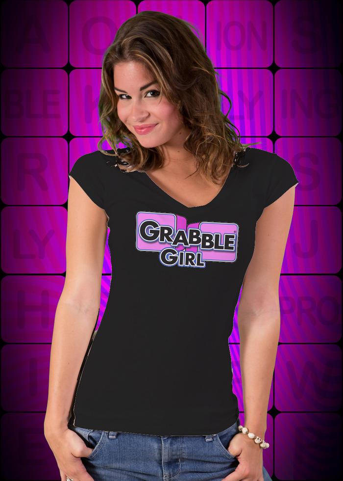 Grabble Girl Black T-Shirt