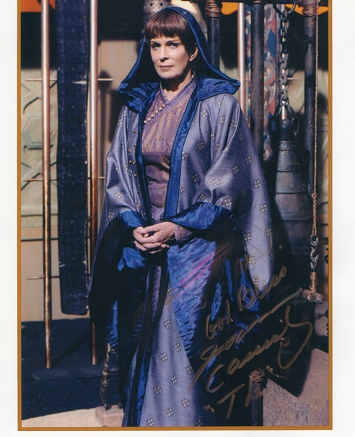 """JOANNA CASSIDY Autographed photo 8"""" x 10"""" from Enterprise"""