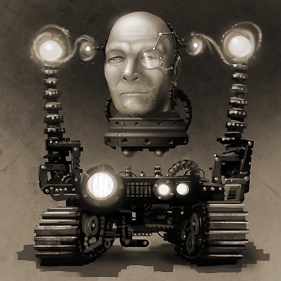 """After Steampunk Transformation through """"Steampunk Reanimated Package"""" and """"A Moment in the Sun Package"""""""
