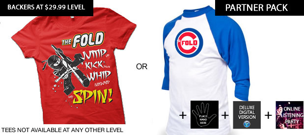 We partnered w Chicago Cubs & LEGO Ninjago, get your choice tee plus all the above, a pick & poster