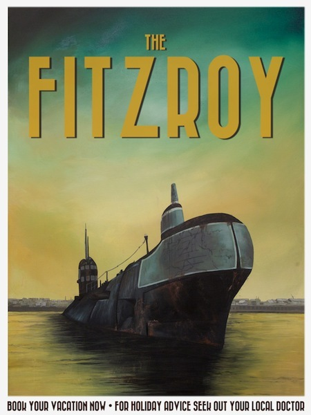 Poster E: 'The Fitzroy' by Jack Candy-Kemp (A1 size)