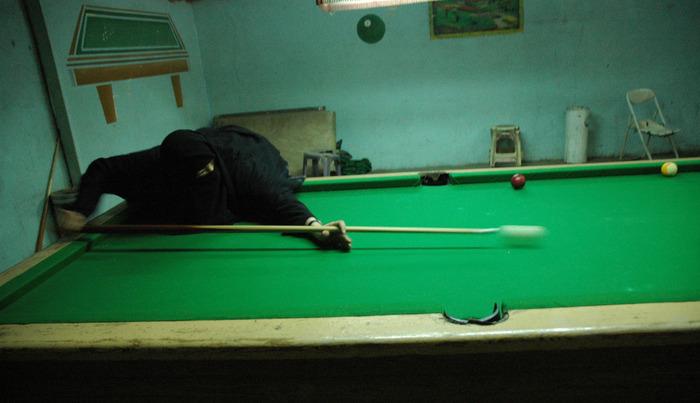 Playing Pool, Yemen