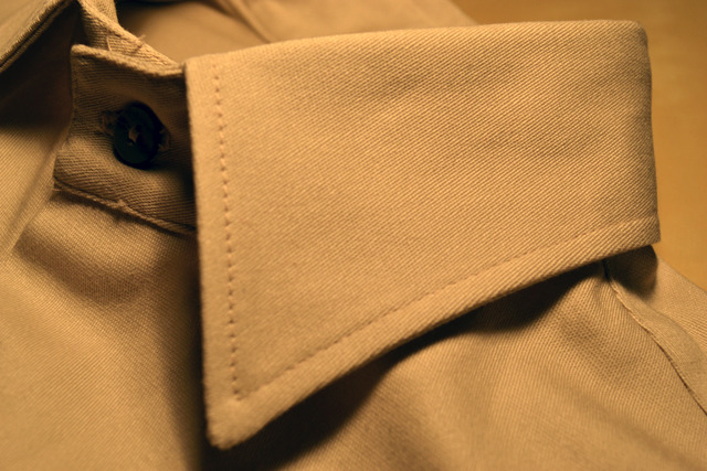 Close up to see texture of fabric