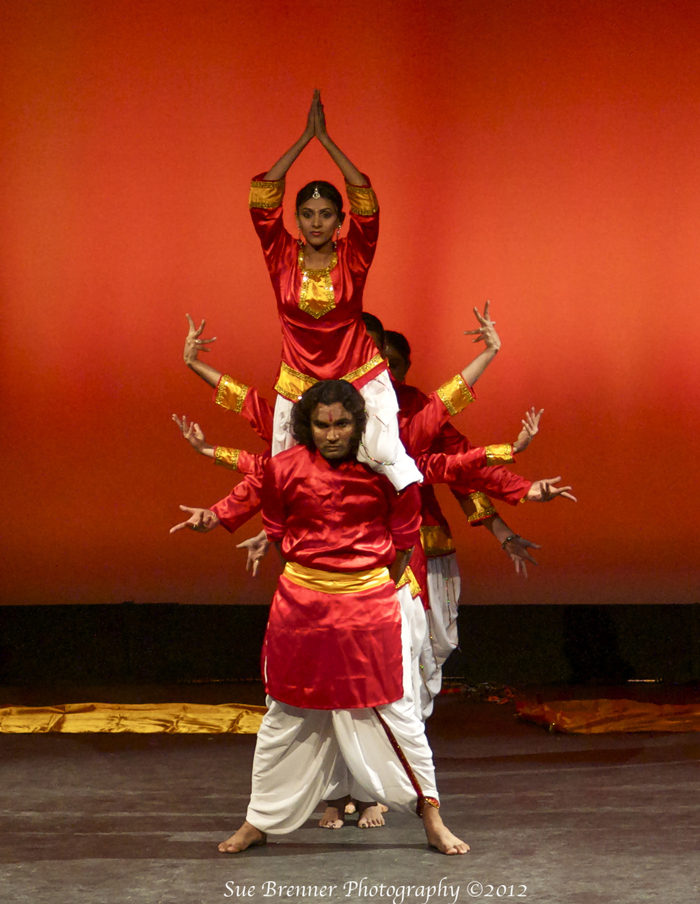 Bollywood Tranz will participate in our Flash Mobs.  (Photo by: of Sue Brenner)