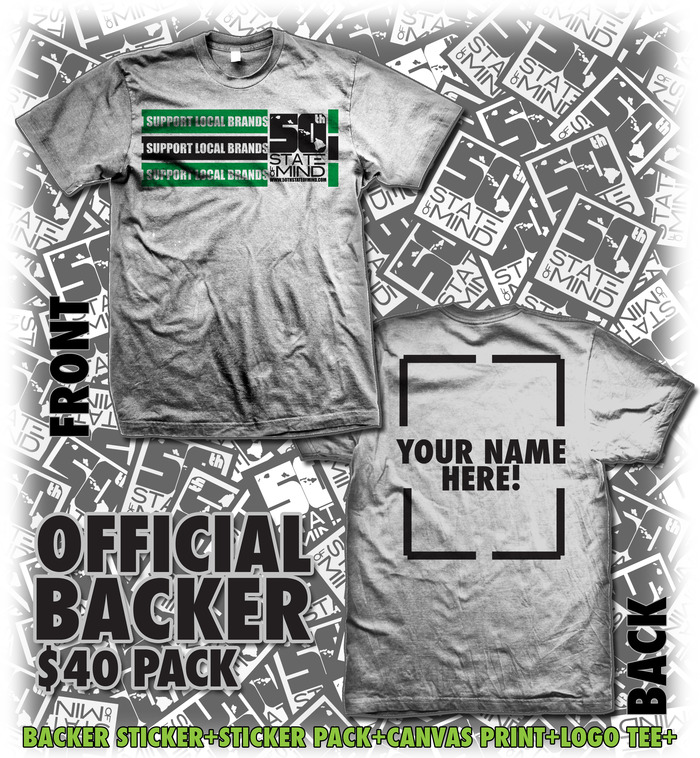 Official Backer - $40 Package