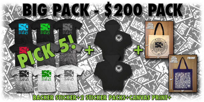 Big Pack - $200 Package (WOMEN'S LOGO TEE'S INCLUDED)