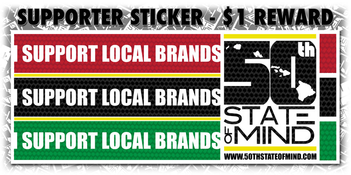 Supporter Sticker - $1 Package