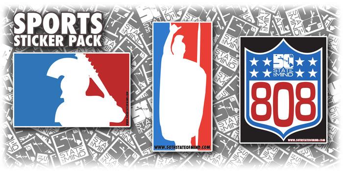 Sports Stickers - $5 Package 1 of 2