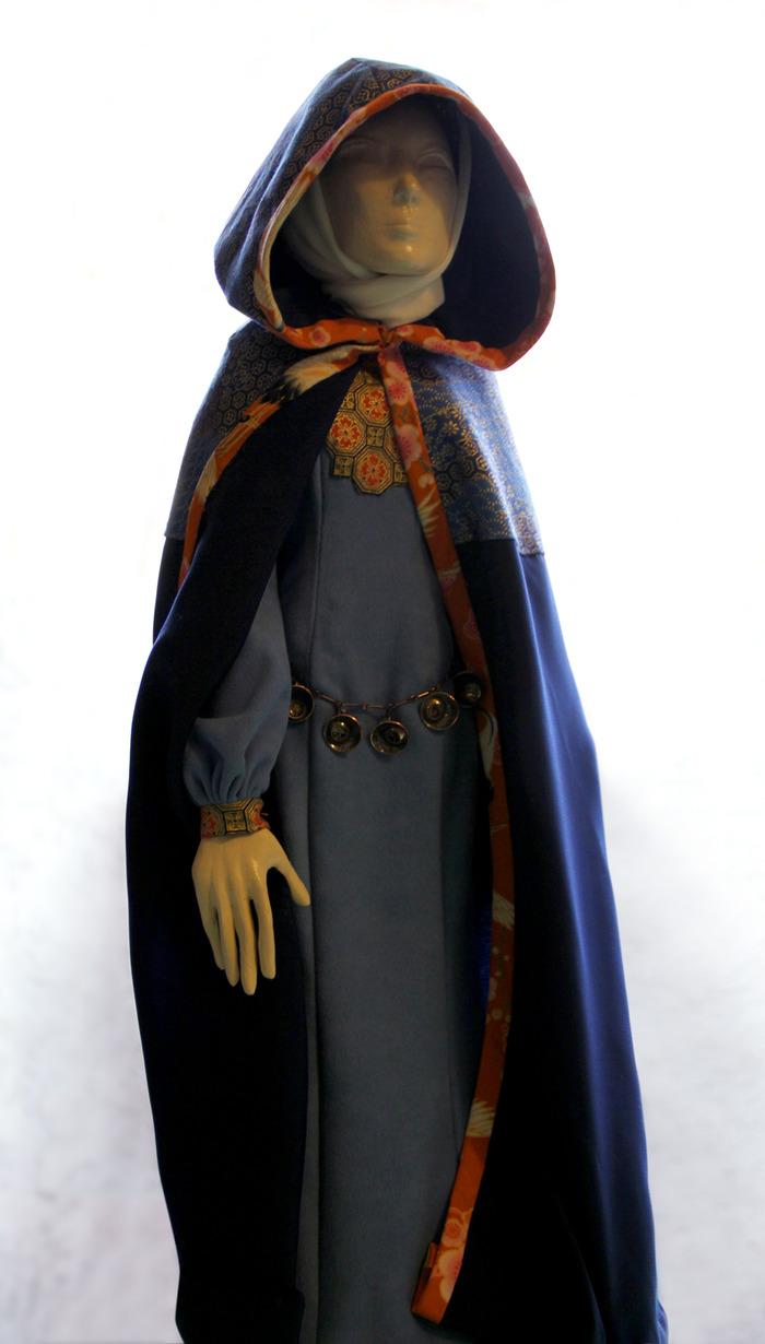 Sky costume hand-stitched by Ayumi