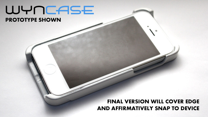 "WynCASE in ""Phone-Mode"""