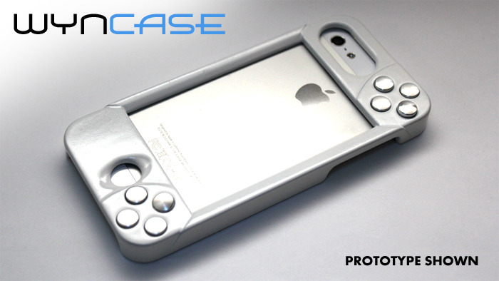 "WynCASE in ""Phone-Mode"" (Back)"