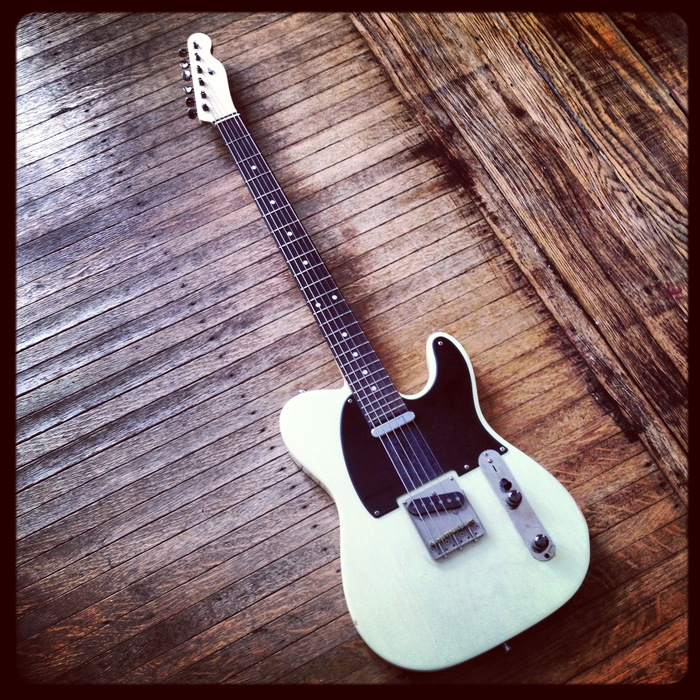 "A one of a kind Baritone Telecaster guitar, 27.5"" scale and tuned to B [$1000 pledge, 1 available]"