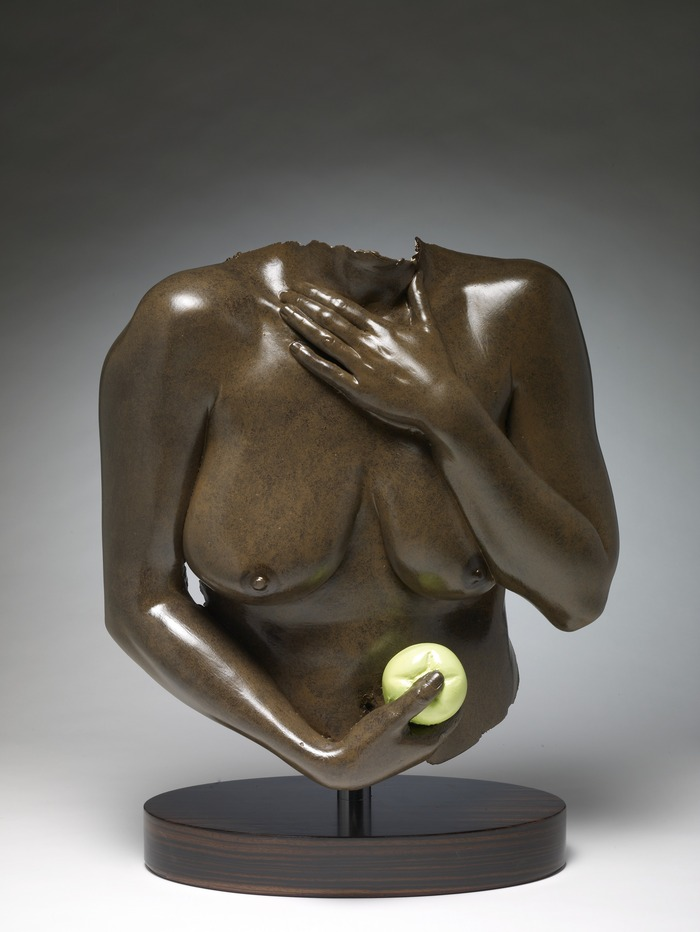 Eve With Green Apple