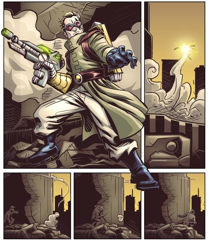 Doktor Bleak really doesn't like Mister Solenoid.