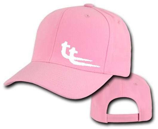 Baseball pink w white