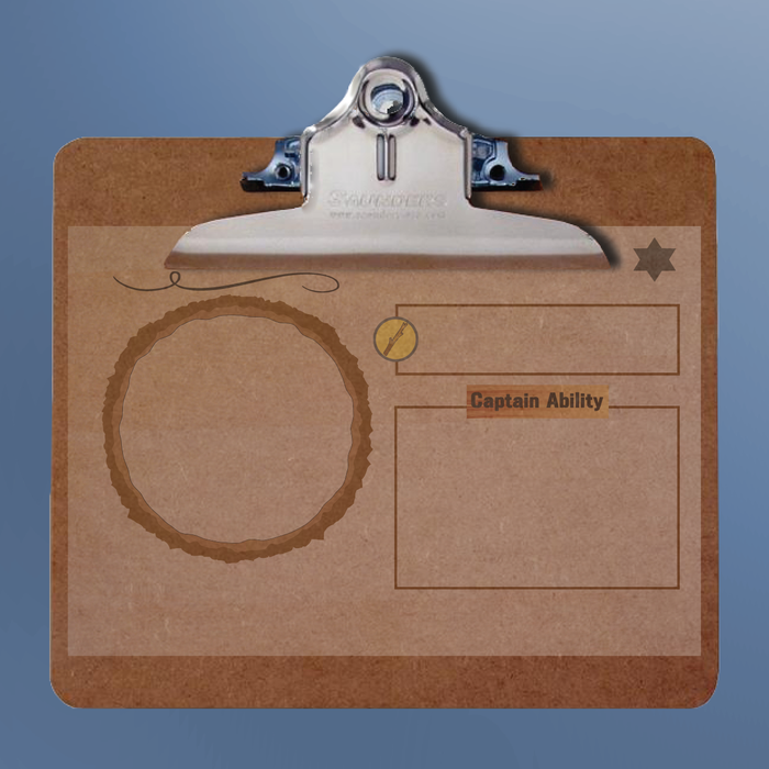 A Clipboard mat - so that you can put down piles of assigned staff members and not forget whose are whose.