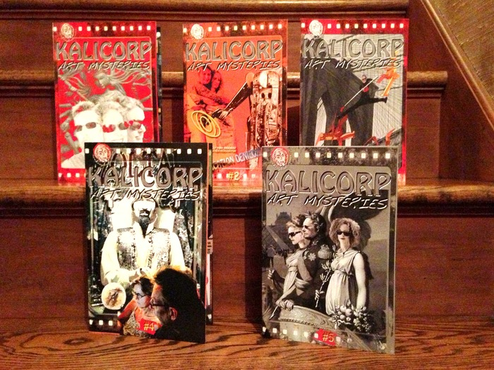 Our first five issues were completed in 2012. They can be yours with a pledge.