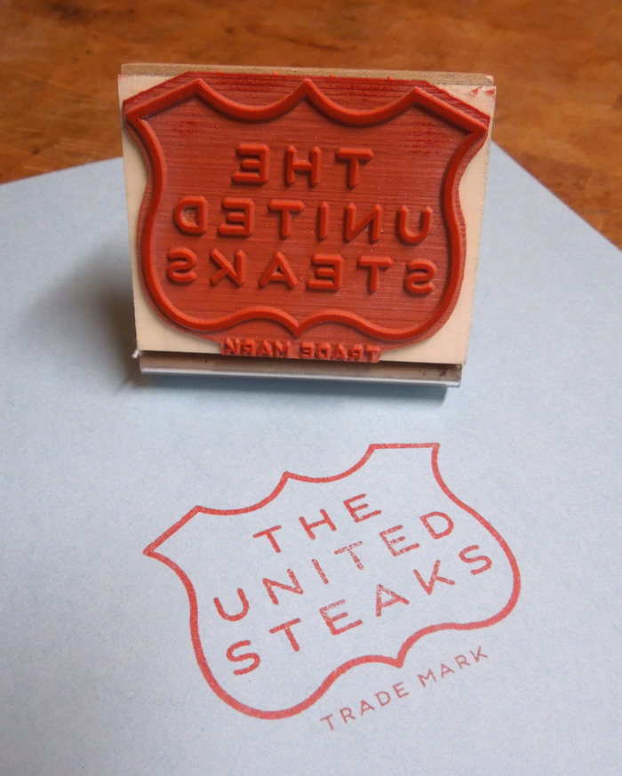 Fancy rubber stamp!