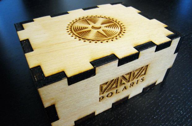2-Deck Wooden Box -- Add $45 ($55 international)