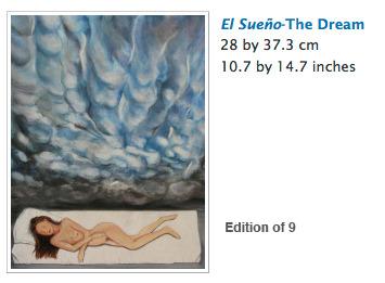 El Sueño limited edition print by Ria Vanden Eynde ($300 level)