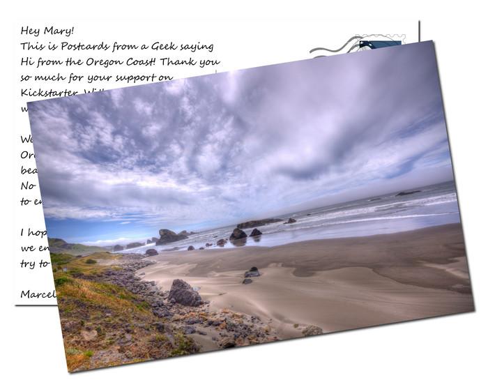 Oregon Beach, Highway 1