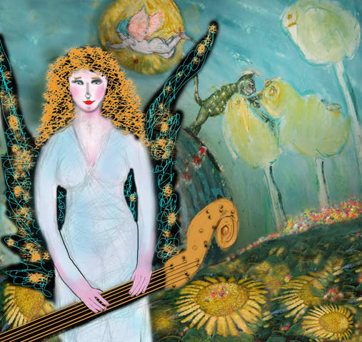 Venus Maiden limited edition print #1 of 3 by Susan Shulman ($400 level)