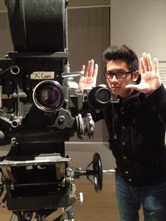 Director Robert Mai in Action (no pun intended)