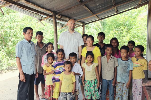 Visting a village in 2009