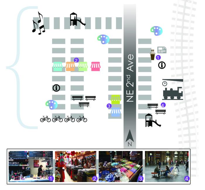 Conceptual Site Design of Purple Line