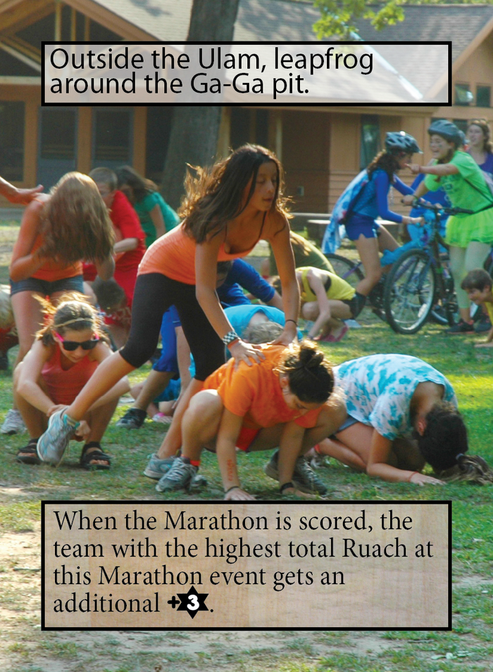 This is a Marathon event with some special rules text -- if your team has a lot of Ruach at this leg of the Marathon, it can help you take the lead overall!