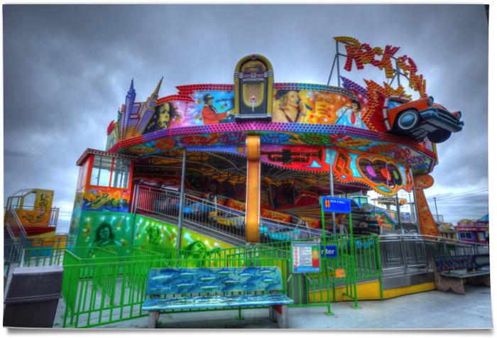 Santa Cruz Boardwalk, Rock 'n Roll Ride