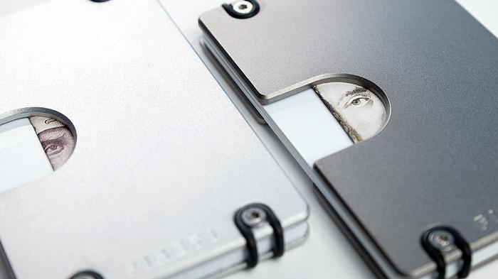 Lighter aluminium vs darker titanium