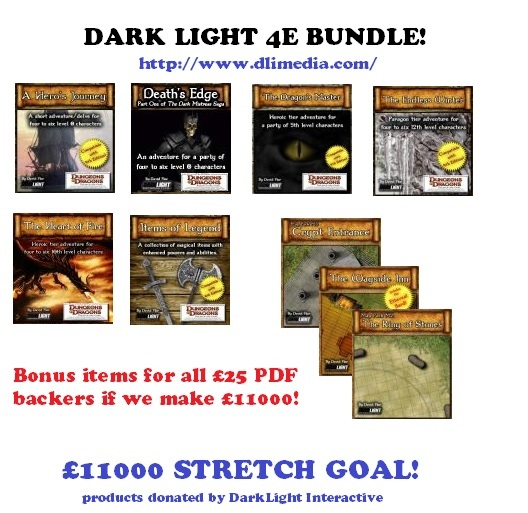 Courtesy of Darklight Interactive, all this gets automatically added to the £25 PDF bundle if we hit the target of £11000!