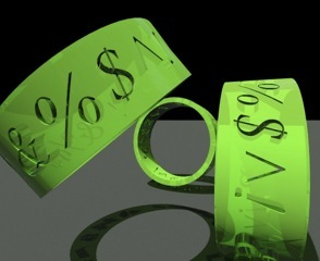 Green 3D Print Bracelet