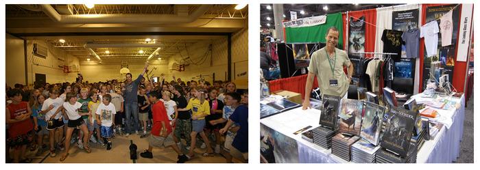 IMAGINATION REIGNS. Have Frank visit your school! SUMMER WONDERLAND. Join Frank at Phoenix Comic Con!