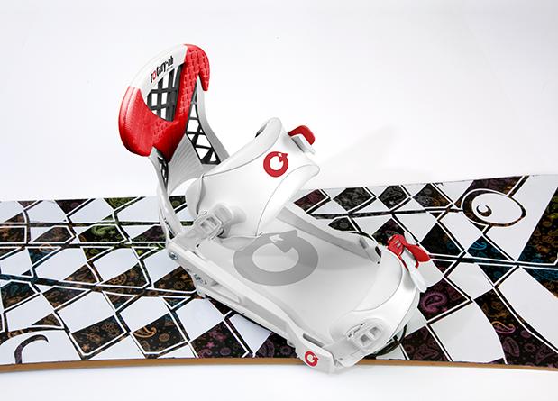 Rotary-Ah Rotative Binding for Snowboarding