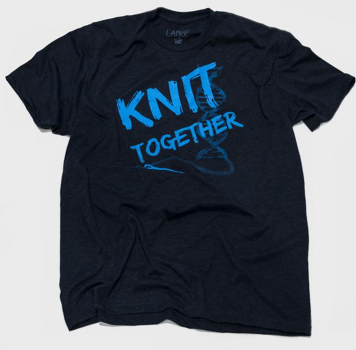 "Knit Together - Shirt inspiration: Psalms 139:13 - Shirt text ""Knit together"""