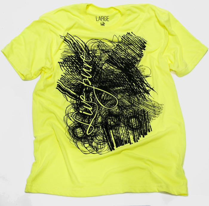"Live Pure - Shirt inspiration: 2 Timothy 2:21 and Ephesians 4:1 - Shirt text - ""Live pure"""