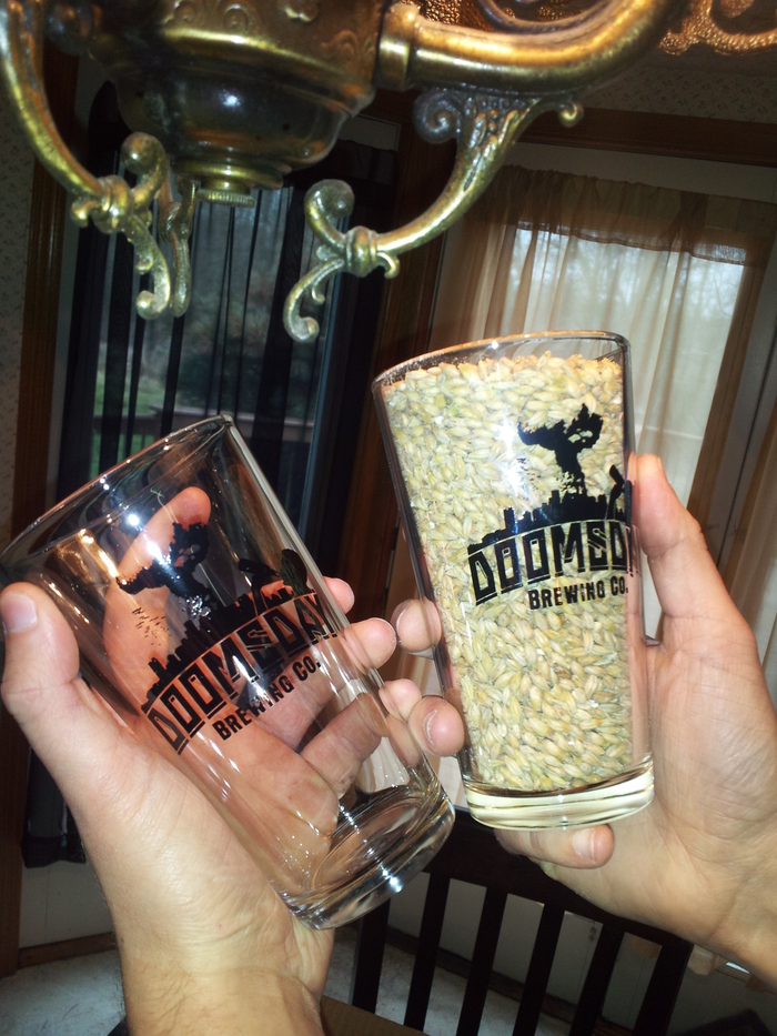 Some of our pint glasses