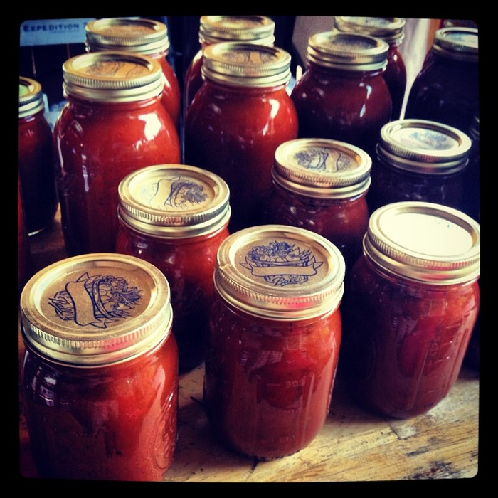 Chookie's canned tomato sauce. Secret recipe for over 25 years!