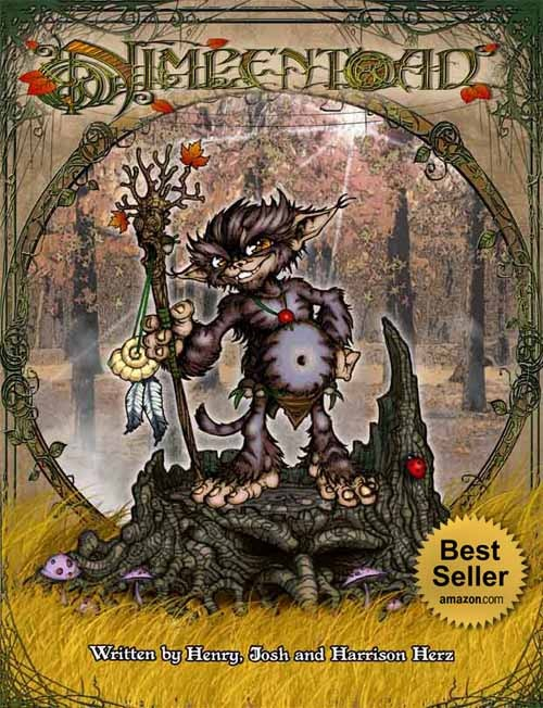 Nimpentoad fantasy book