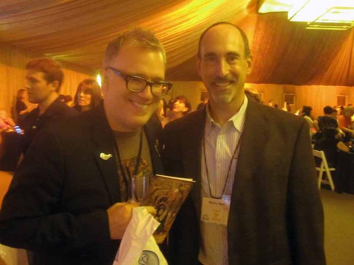 Henry with Tony DiTerlizzi (Spiderwick Chronicles)