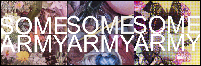 """COVER ART by OOJA: Servant Tires 7"""" : Business Gee 7"""" : SOME ARMY EP"""