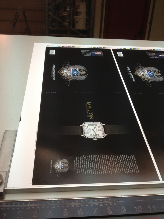Photos from the printing of book one