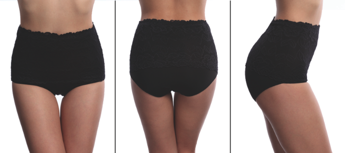 Shapewear Comfy THINX - actual lace & lace detail coming soon!