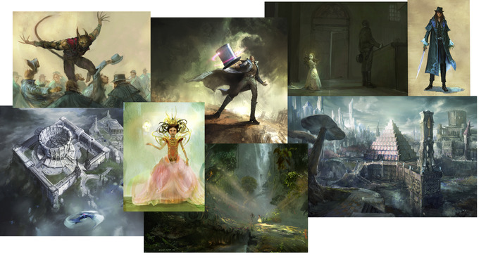 Prints included in WHITE MAGIC.