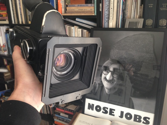 Camera & lens used to shoot Steve Jobs and George Lucas—President Ronald Reagan, too, for the cover of FORTUNE magazine.